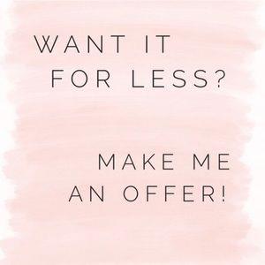 Make offers!! I'm flexible!!